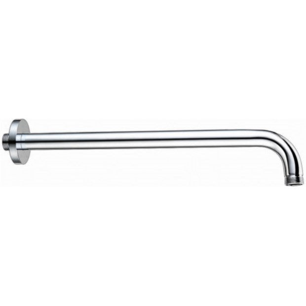 Round Extended Wall Arm Chrome