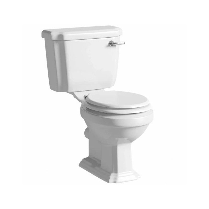 Astley Traditional Close Coupled Toilet with Soft Close Seat