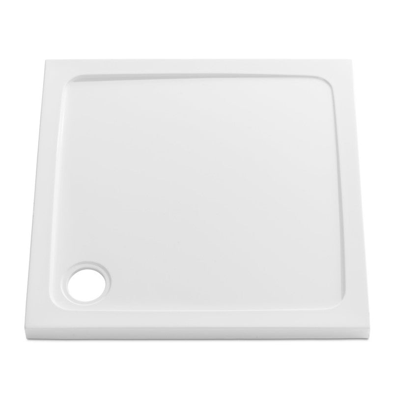 Stone Resin 45mm Low Profile Square Shower Trays