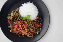 Load image into Gallery viewer, VEG STIR-FRY & RICE