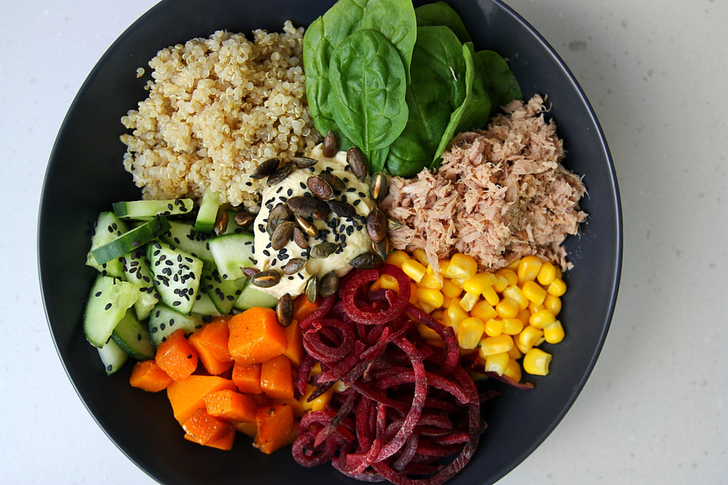 BUDDHA BOWL + OPTIONS