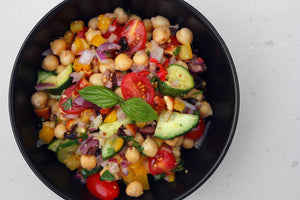 VEGAN CHICKPEA BOWL