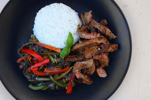 STEAK STIR-FRY & RICE