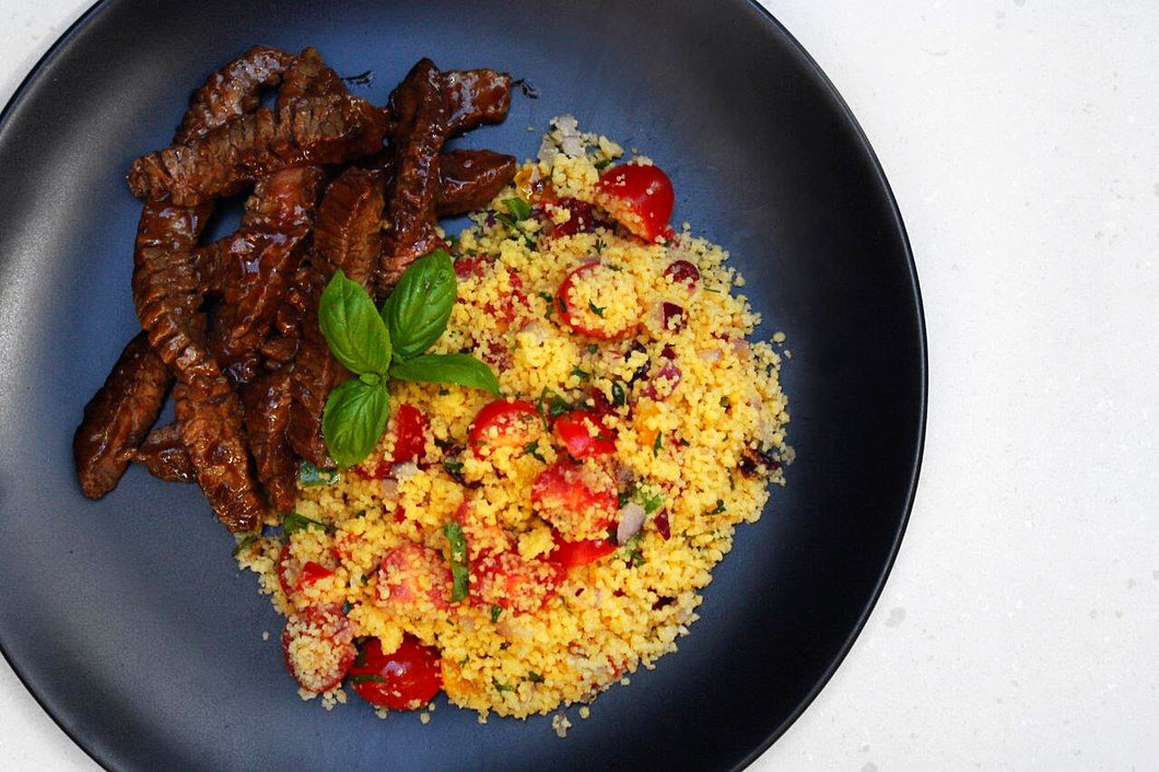 STEAK & COUSCOUS