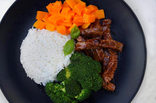 Load image into Gallery viewer, STEAK, BUTTERNUT, BROCCOLI & RICE