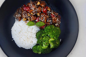 CASHEW CHICKEN & RICE