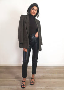 Oversized Wool Blazer