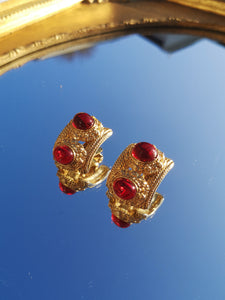 Vintage Asian Style Earrings