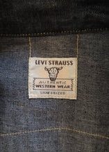 Authentic Levi Strauss Western Denim Shirt