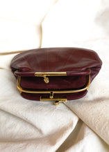 Vintage leather wallet - Made in France