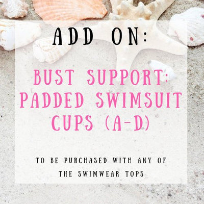 Add Padding to Your Bikini Top, Push Up Bra Add Ons With Extra Breast Supports, Make It Look Sexy, Dress Up Your Bathing Suit