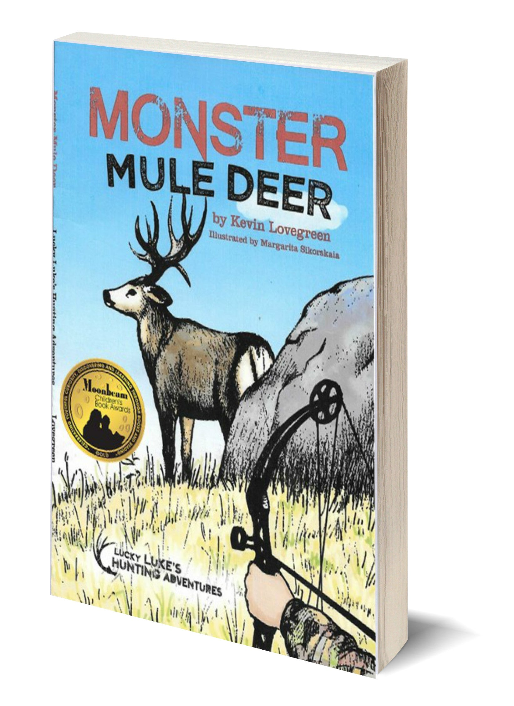 Monster Mule Deer Children S Books By Kevin Lovegreen Kevin Lovegreen Author Minnesota Does not contain any of the 8 major allergens. monster mule deer