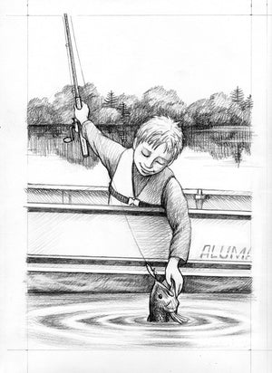 Fish On! - Author Kevin Lovegreen