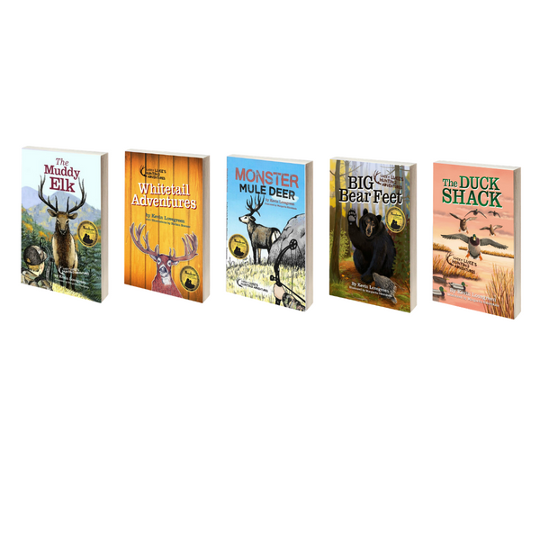 Hardcover 5 Pack of Chapter Books (Hunting Adventures)