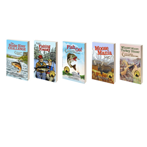 Hardcover 5 Pack of Chapter Books (Fishing + Hunting Adventures)