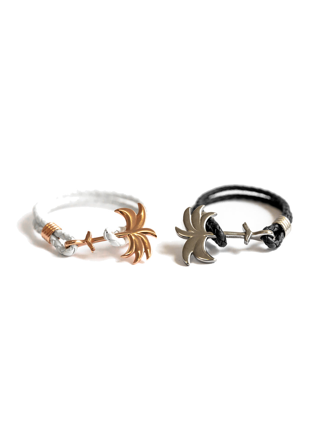 The Palm Band anchor bracelet - Couples pack. Perfect for you and your partner.