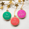 Joyful Christmas Bauble Kit