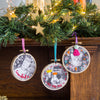 Hacked Photo Hoop Bauble Kit