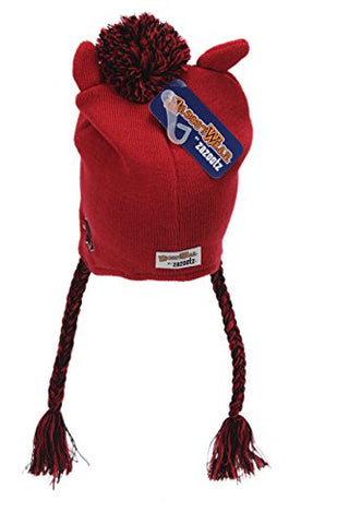 Mascot Wear NCAA College Unisex Arkansas Razorbacks Adult Knit Beanie Hat