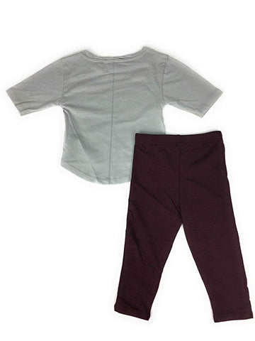 Outerstuff Texas A&M Aggies Football Sweetheart Girl's Shirt and Pant Set