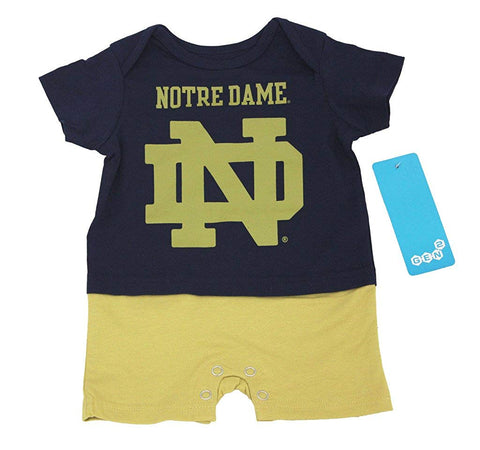 Outerstuff Notre Dame Fighting Irish Romper Baby Clothing Apparel