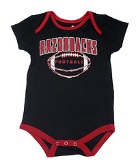 Outerstuff Arkansas Razorbacks Little Kicker, Gen 2, 3-Pack Baby Bodysuit Apparel Set