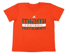 Outerstuff Miami Hurricanes Canes Boy's Youth Short Sleeve T-Shirt