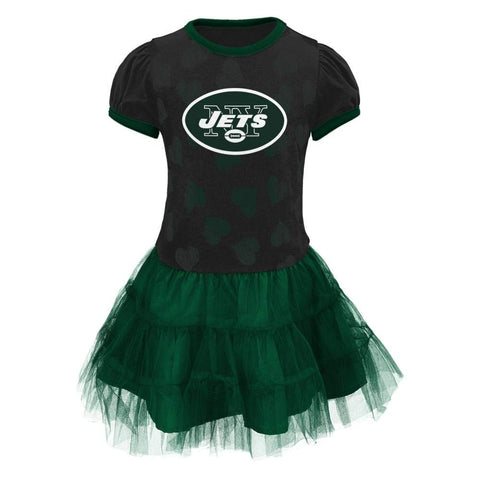 Outerstuff NFL New York Jets Love to Dance Infant Girl Tutu Dress