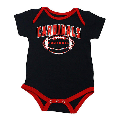 Outerstuff Louisville Cardinals Little Kicker, Gen 2, 3-Pack Baby Bodysuit Apparel Set