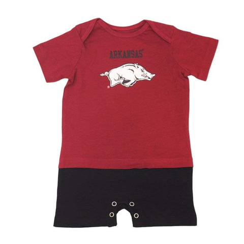 Outerstuff Arkansas Razorbacks Gen 2 Romper Baby Clothing Apparel