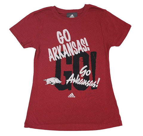 Outerstuff Arkansas Razorbacks Go! Short Sleeve Girl's T-Shirt