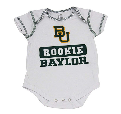 Outerstuff Baylor Bears 3-Piece Onesie Babysuit Clothing Apparel Set