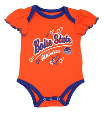 Outerstuff Boise State Broncos 3-Piece Creeper Baby Clothing Apparel Set