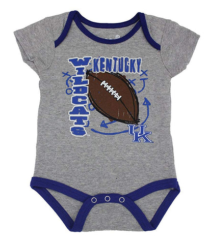Outerstuff Kentucky Wildcats 3-Piece Creeper Baby Clothing Apparel Set