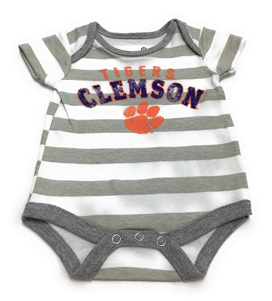 Outerstuff Baby Clemson Tigers 3 Piece Creeper Bodysuit Set