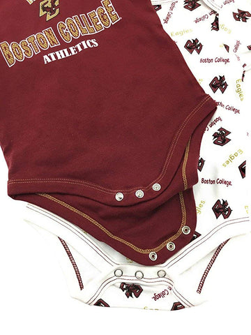 Outerstuff Boston College 2 Piece Onesie Baby Clothing Apparel Set