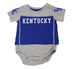 Outerstuff Kentucky Wildcats University, 3-Piece Creeper Booties and Bib Baby Clothing Set