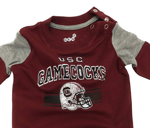 Outerstuff South Carolina Gamecocks Sleeper Baby Clothing
