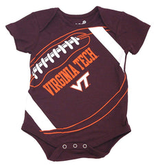 Outerstuff GEN2 Virginia Tech Hokies Football Baby Clothing, 1 Piece Creeper Set