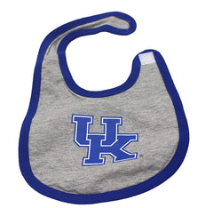 Outerstuff Kentucky Wildcats, Bodysuit, Booties and Bib 3-Piece Set Baby Clothing