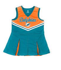 Outerstuff Miami Dolphins Football Girls Cheerleadrer Dress Clothing Apparel