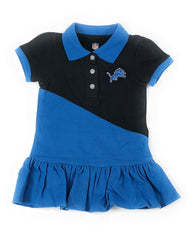 Outerstuff Detroit Lions Football Girls Polo Dress Clothing Apparel