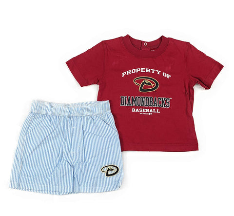 Outerstuff Arizona Diamondbacks Toddler Short Set 2 Piece Clothing Apparel