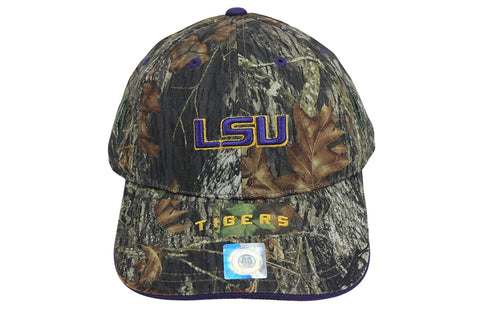 LSU Tigers EVO Cap, Hat Holds Eyewear in Place Camo