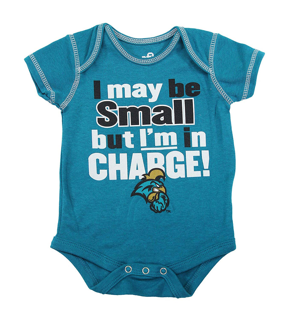 Outerstuff Coastal Carolina Chanticleers Rookie 3 Piece Creeper Apparel Set for Baby