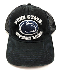 Penn State Nittany Lions Snap Back Hat 3D Embroidered Mesh Back Cap