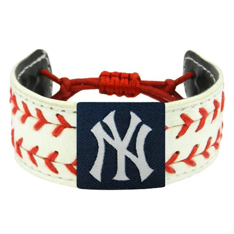 MLB New York Yankees Classic Two Seamer Bracelet