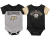 Image of Outerstuff Purdue Boilermakers 2 Piece Onesie Baby Clothing Apparel Set