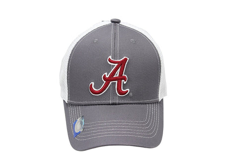 Collegiate Headwear Men's Embroidered Grey Ghost Mesh Back Cap