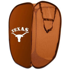The Northwest Company NCAA Texas Longhorns Pop Up Hamper by Northwest